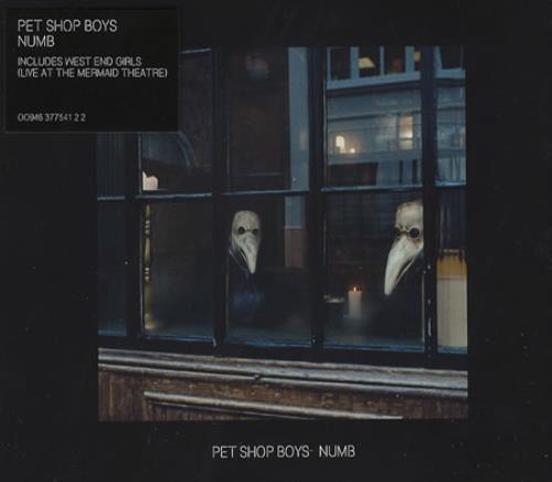 Pet Shop Boys Numb 2-CD single set (Double CD single) UK PSB2SNU375497