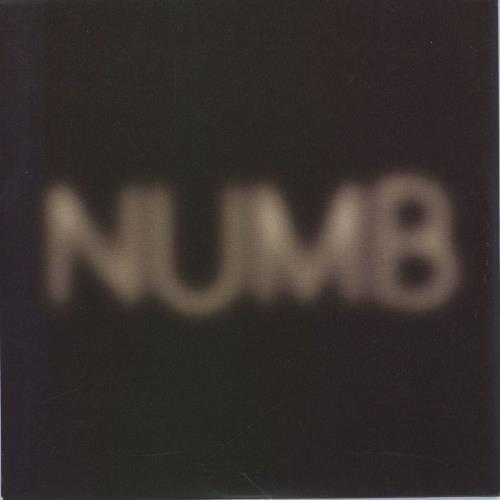 "Pet Shop Boys Numb 7"" vinyl single (7 inch record) UK PSB07NU375499"