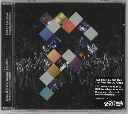 Pet Shop Boys Pandemonium - Live at the O2 Arena, London, 21 December 2009 2-disc CD/DVD set UK PSB2DPA495828