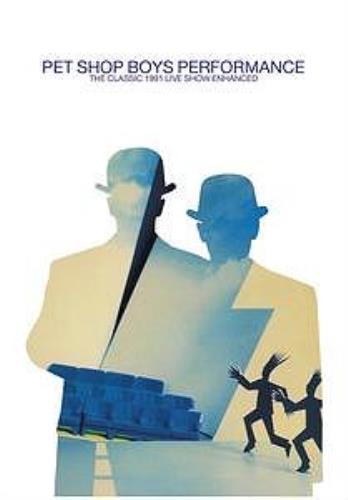 Pet Shop Boys Performance DVD UK PSBDDPE302604