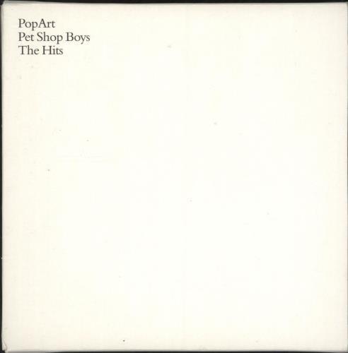 Pet Shop Boys PopArt (The Hits) 2 CD album set (Double CD) UK PSB2CPO265955