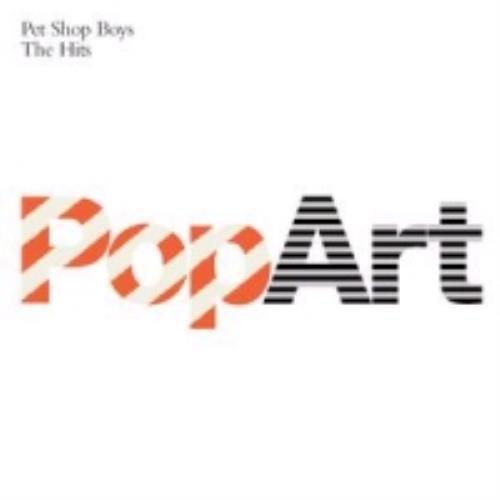 Pet Shop Boys PopArt - The Hits 2 CD album set (Double CD) UK PSB2CPO264079