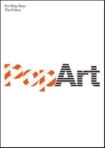 Pet Shop Boys PopArt - The Hits DVD UK PSBDDPO264082