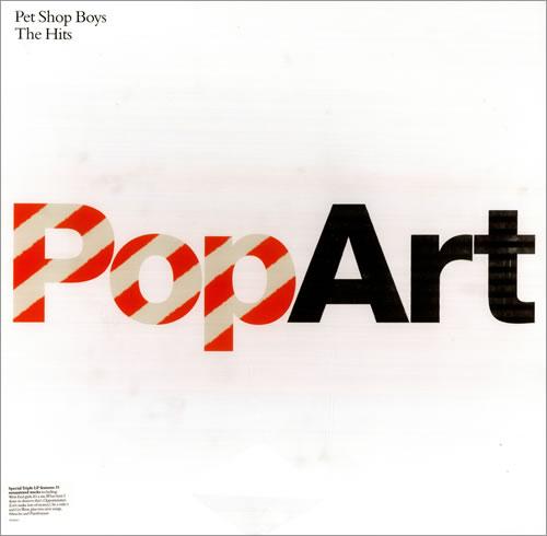 Pet Shop Boys PopArt 3-LP vinyl record set (Triple Album) French PSB3LPO266093