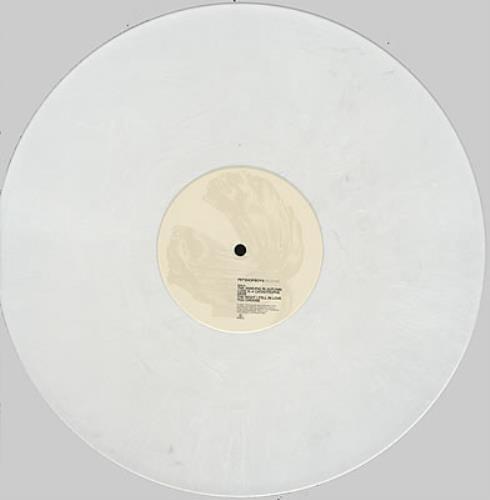 Pet Shop Boys Release - White Marble Vinyl vinyl LP album (LP record) UK PSBLPRE211239