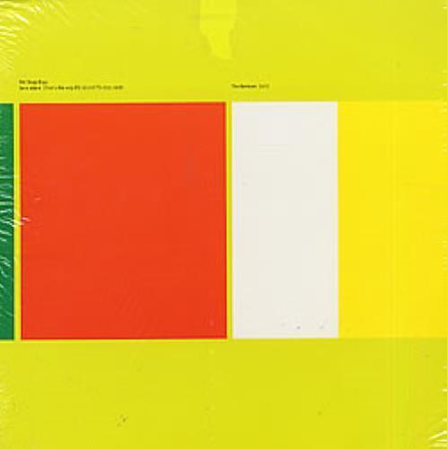 "Pet Shop Boys Se A Vida E - Sealed 12"" vinyl single (12 inch record / Maxi-single) US PSB12SE82214"