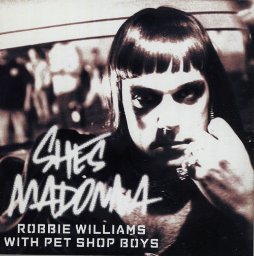 Pet Shop Boys Shes Madonna CD-R acetate UK PSBCRSH583302