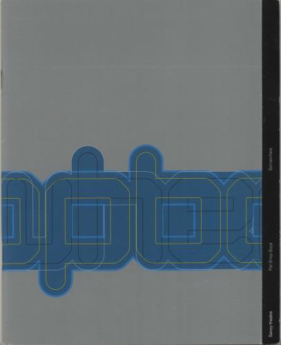 Pet Shop Boys Somewhere + Ticket Stub tour programme UK PSBTRSO685232