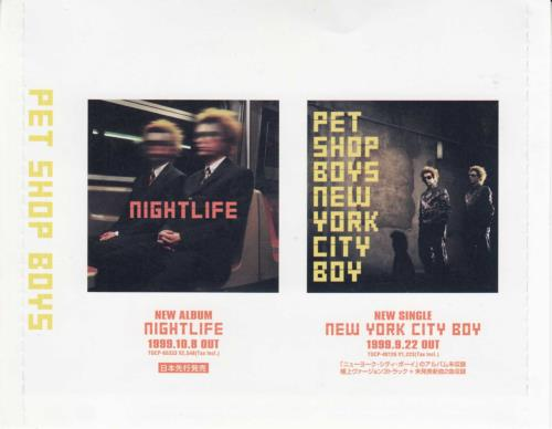 Pet Shop Boys Special '99 2 CD album set (Double CD) Japanese PSB2CSP151507