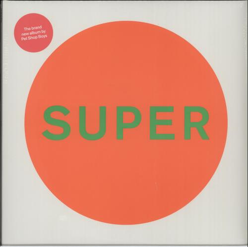 Pet Shop Boys Super - White Vinyl - Sealed vinyl LP album (LP record) UK PSBLPSU651974
