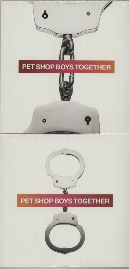 Pet Shop Boys Together 2-CD single set (Double CD single) UK PSB2STO522087