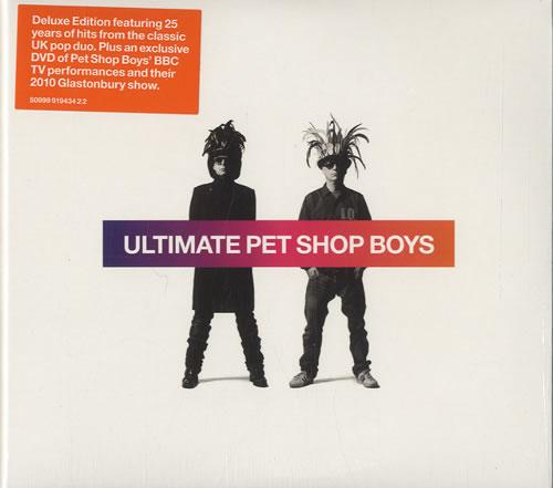 Pet Shop Boys Ultimate 2-disc CD/DVD set UK PSB2DUL520489