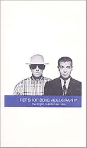 Pet Shop Boys Videography video (VHS or PAL or NTSC) UK PSBVIVI93425