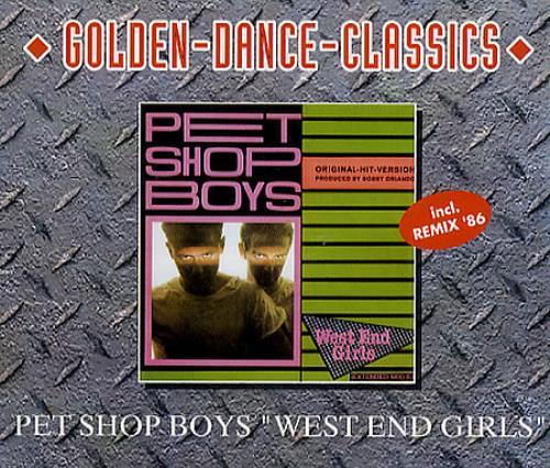 Pet Shop Boys West End Girl/interview 2 CD album set (Double CD) German PSB2CWE44969