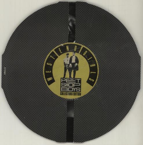 "Pet Shop Boys West End Girls 10"" vinyl single (10"" record) UK PSB10WE48637"