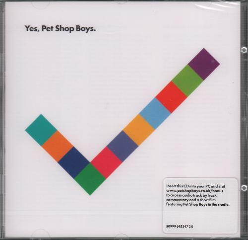 Pet Shop Boys Yes CD album (CDLP) UK PSBCDYE462642