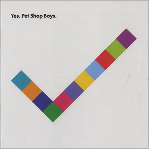 Pet Shop Boys Yes CD album (CDLP) US PSBCDYE468622