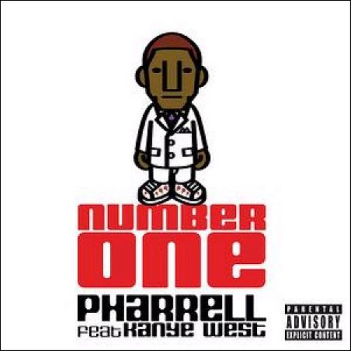 "Pharrell Williams Number One CD single (CD5 / 5"") UK PHWC5NU369612"