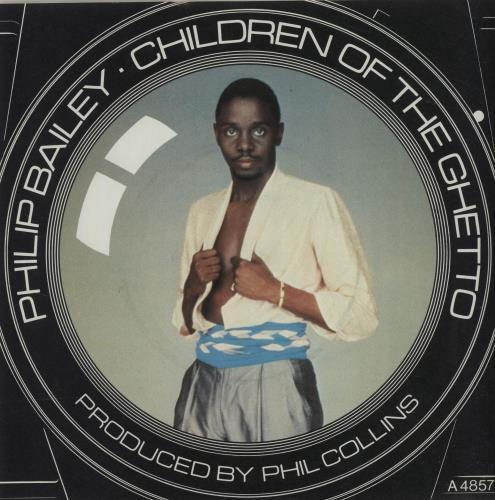 """Philip Bailey Children Of The Ghetto - A Label 7"""" vinyl single (7 inch record) UK PLB07CH684073"""