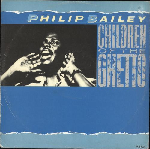 "Philip Bailey Children Of The Ghetto 12"" vinyl single (12 inch record / Maxi-single) UK PLB12CH706861"