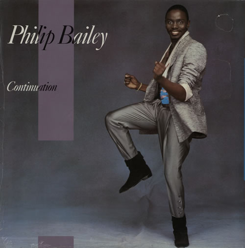 Philip Bailey Continuation - Sealed vinyl LP album (LP record) UK PLBLPCO573545