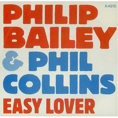 "Philip Bailey Easy Lover - Injection - P/S 7"" vinyl single (7 inch record) UK PLB07EA28117"