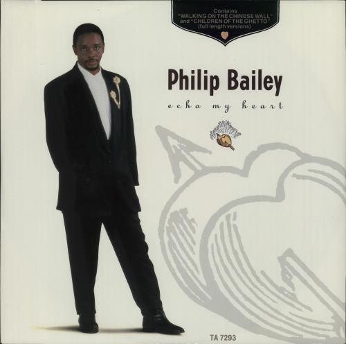 "Philip Bailey Echo Of My Heart 12"" vinyl single (12 inch record / Maxi-single) UK PLB12EC661886"