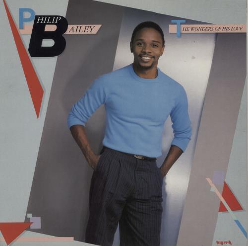 Philip Bailey The Wonders Of His Love vinyl LP album (LP record) UK PLBLPTH659219