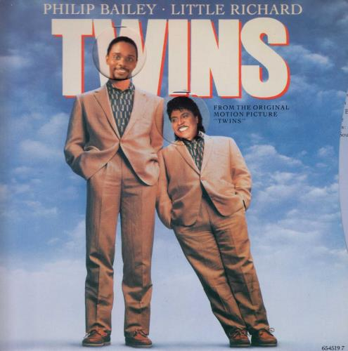 "Philip Bailey Twins 7"" vinyl single (7 inch record) UK PLB07TW633907"
