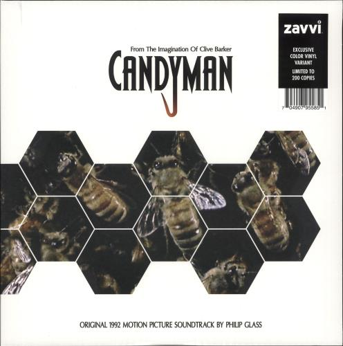 Philip Glass Candyman vinyl LP album (LP record) UK PLGLPCA707859