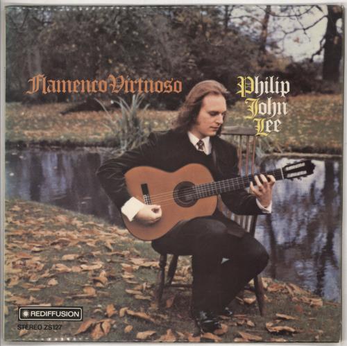 Philip John Lee Flamenco Virtuoso vinyl LP album (LP record) UK P6ILPFL611804
