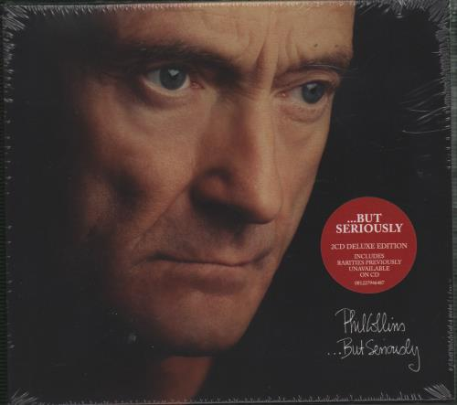 Phil Collins But Seriously Sealed Deluxe Edition Uk 2 Cd Album