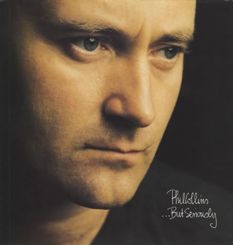 Phil Collins ...But Seriously vinyl LP album (LP record) UK COLLPBU362579