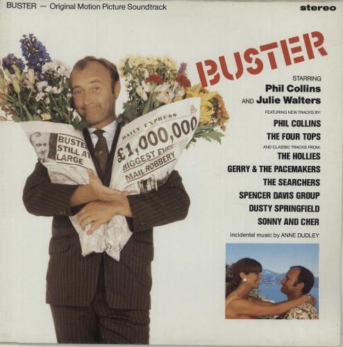 Phil Collins Buster vinyl LP album (LP record) UK COLLPBU245914