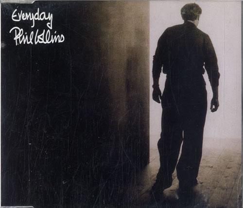 "Phil Collins Everyday CD single (CD5 / 5"") UK COLC5EV33261"