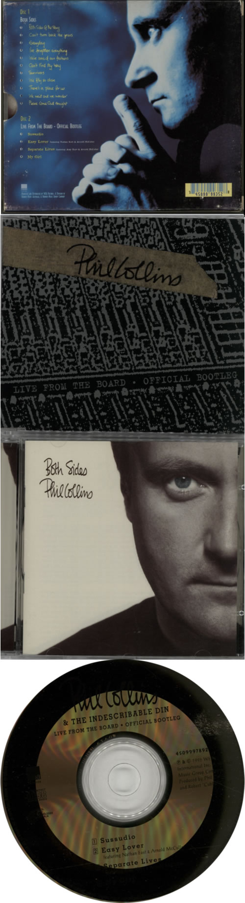Phil Collins Far Side Of The World Tour '95 2 CD album set (Double CD) Australian COL2CFA42406