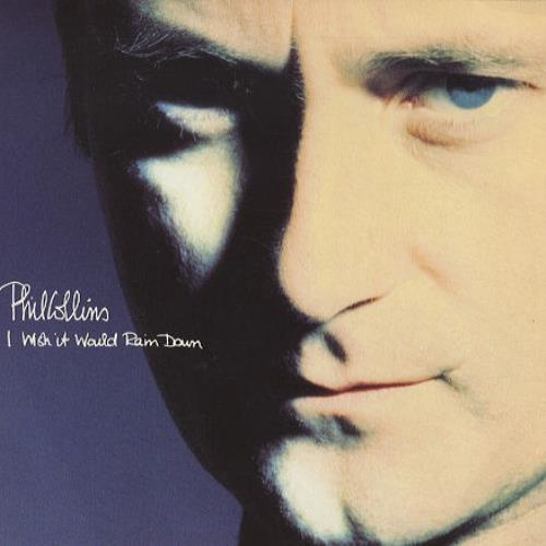 "Phil Collins I Wish It Would Rain Down 7"" vinyl single (7 inch record) UK COL07IW196363"