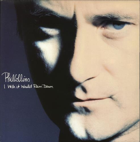 "Phil Collins I Wish It Would Rain Down 12"" vinyl single (12 inch record / Maxi-single) UK COL12IW511558"