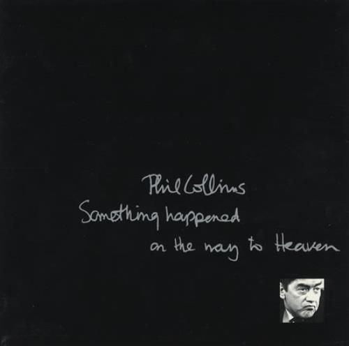 phil collins something happened on the way to heaven booklet p s