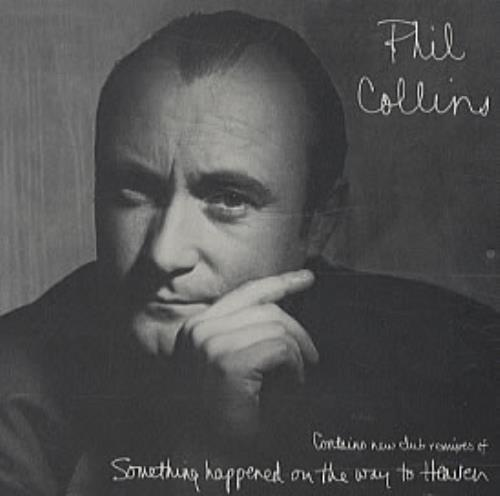 phil collins something happened on the way to heaven us promo cd