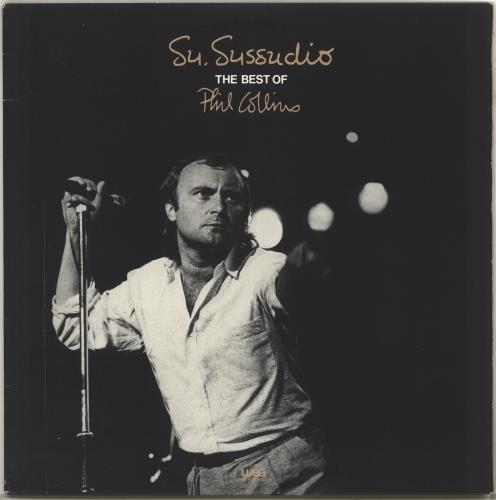 Phil Collins Su. Sussudio - The Best Of vinyl LP album (LP record) Japanese COLLPSU89671