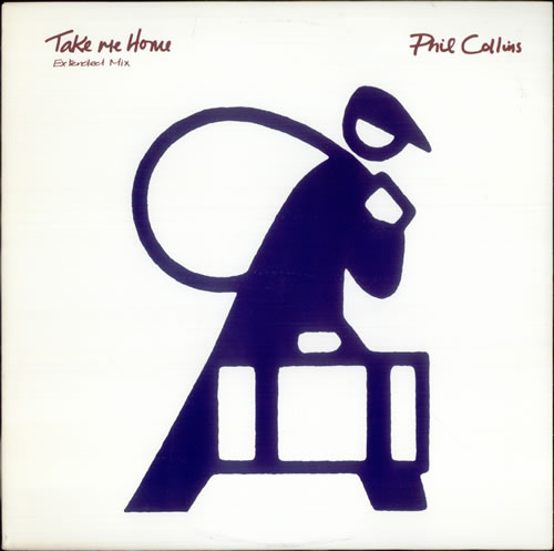 """Phil Collins Take Me Home - Extended Mix 12"""" vinyl single (12 inch record / Maxi-single) US COL12TA524678"""