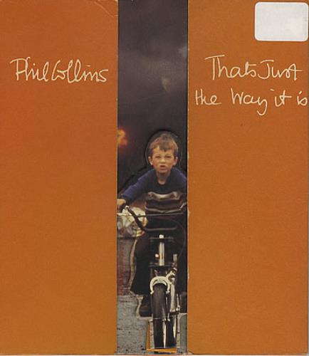 phil collins that s just the way it is uk cd single cd5 5 1363