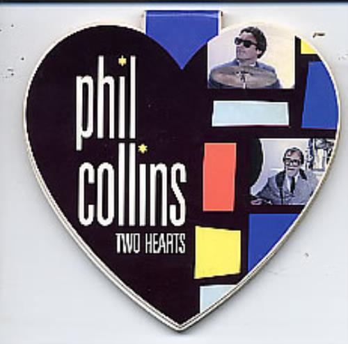 "Phil Collins Two Hearts - Heart Shaped Pack 3"" CD single (CD3) UK COLC3TW33962"