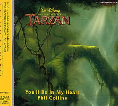 Phil Collins You Ll Be In My Heart Japanese Promo Cd