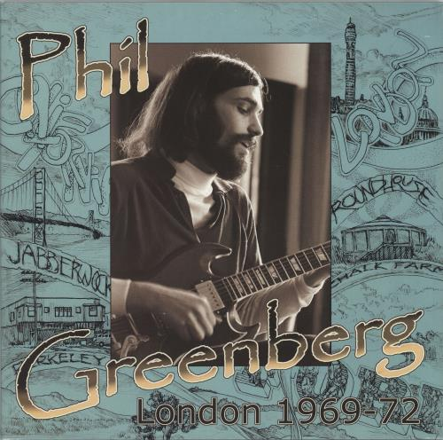"Phil Greenberg London 1969-72 10"" vinyl single (10"" record) UK 27-10LO765283"