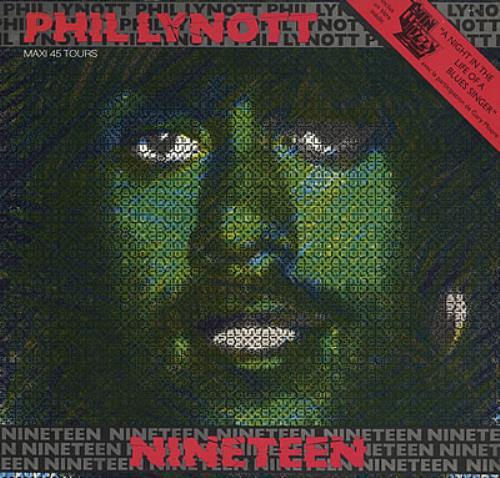 "Phil Lynott Nineteen 12"" vinyl single (12 inch record / Maxi-single) French LYN12NI373601"