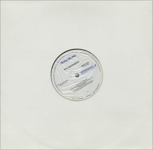 "Phil Manzanera Un Millon De Razones 12"" vinyl single (12 inch record / Maxi-single) Mexican PMZ12UN393550"