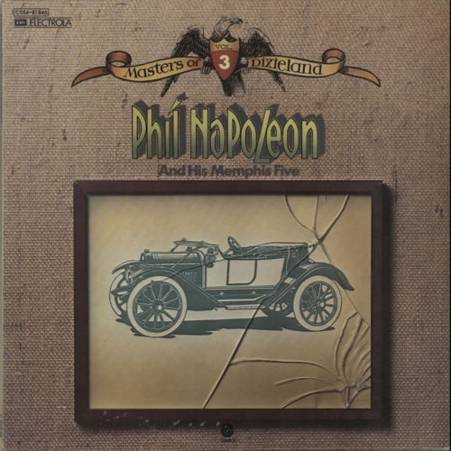 Phil Napoleon Masters Of Dixieland Vol. 3 vinyl LP album (LP record) German P7JLPMA609232