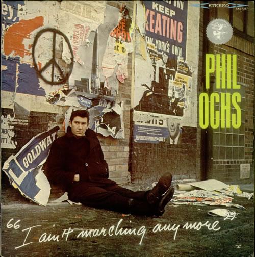 Phil Ochs I Ain't Marching Anymore vinyl LP album (LP record) US OCHLPIA543496